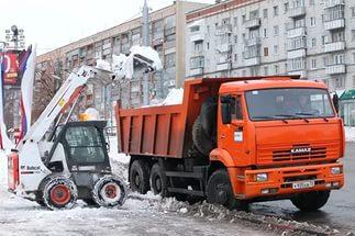 Клининговые услуги - уборка снега