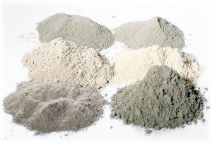 Разный цемент