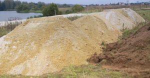 Применение вскрышного грунта