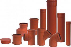 Размеры и виды труб из пластика для канализации